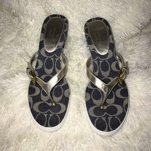 Coach Jean Heels / Platforms Shoes Size 10